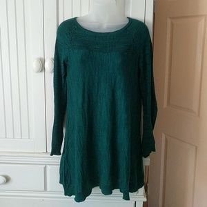 Knitted & Knotted Evergreen Light Tunic